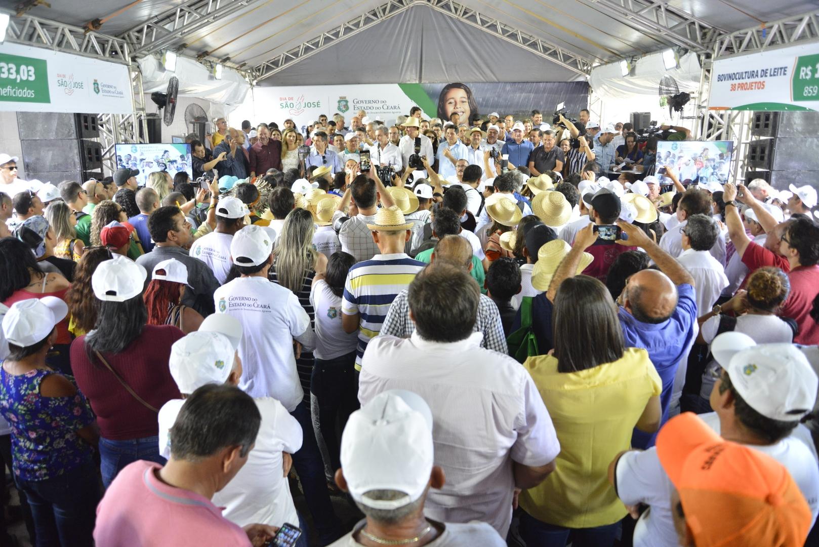 Dia de São José: Governador anuncia novos recursos e realiza entregas para agricultores