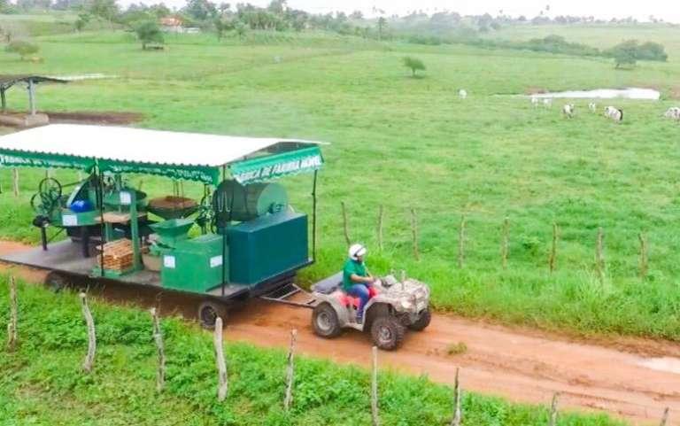 Três Fábricas de Farinha Móveis modernizarão mandiocultura no Ceará