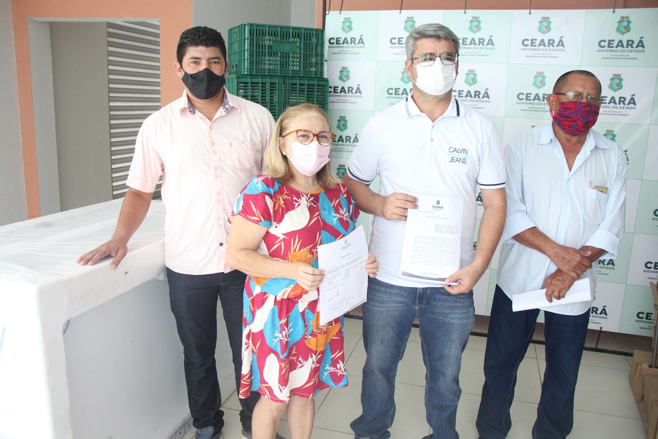 SDA cede equipamentos para apoiar o PAA em Uruburetama